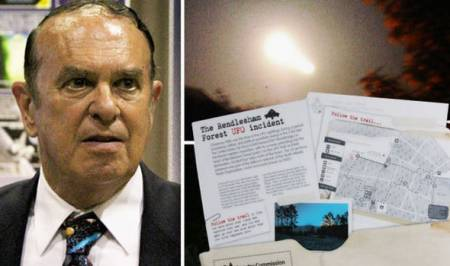 RENDLESHAM: US commander feared attack after 'UFO fired laser' and 'explosion in woods'