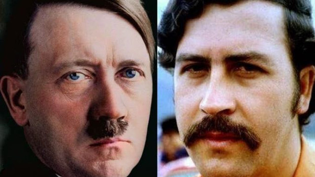 Colombian Historian Has 'Proof' Pablo Escobar Was Adolf Hitler's Son