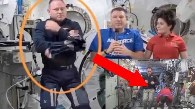 NASA Researcher Releases Video Evidence Showing ISS Being Filmed In A Studio