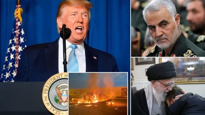 Iran Issues Arrest Warrant For President Trump Over Soleimani Killing