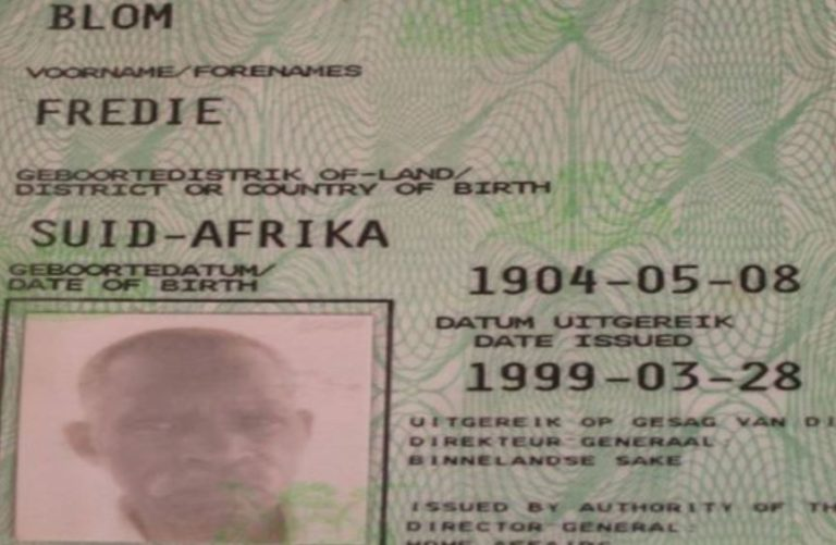 The Oldest Man On Earth Died In South Africa: He Was Born In 1904