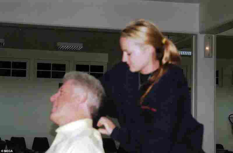 Leaked Pics Show Bill Clinton Receiving 'Massage' From Pedophile Epste