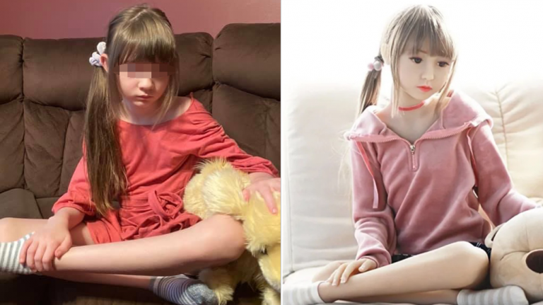Florida Mom Finds 'Child Sex Doll' Modeled on Her 8-Yr-Old Daughter Fo