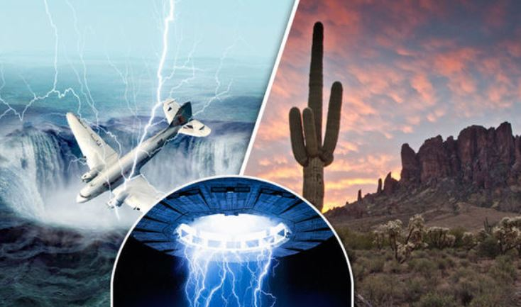 Most Mysterious Places On Earth: Paranormal Activity, Aliens And Disap