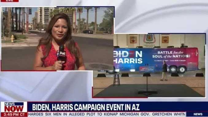'Not Much To See': Reporter Stunned At Lack of Crowd For Biden Campaig