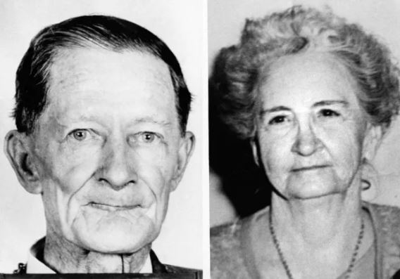 Fred and Edwina Rogers, murdered in their home on Father's Day, 1965.