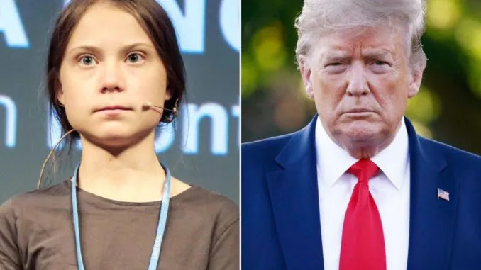 Greta Thunberg Tells Trump To 'Chill' After He Calls For Ballot Counts