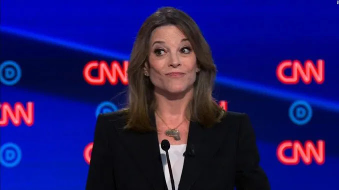 Democrat Marianne Williamson Defends Philly Looters: Bible Doesn't Say