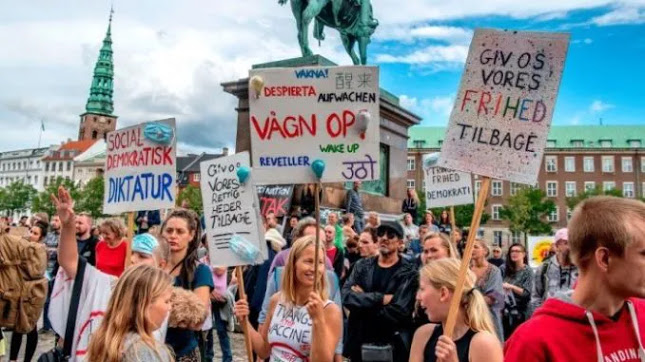 Forced Vaccination Law ABANDONED in Denmark After Mass Protests