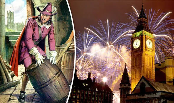US Media Claims That UK's Fireworks For Guy Fawkes Night Were For Joe