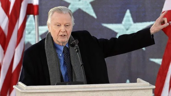 Jon Voight: Trump Is the 'Only Man Who Can Save the USA'