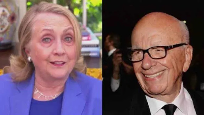 Fox News' Murdochs 'LOVED' Clinton Crime Foundation, Crooked Hillary