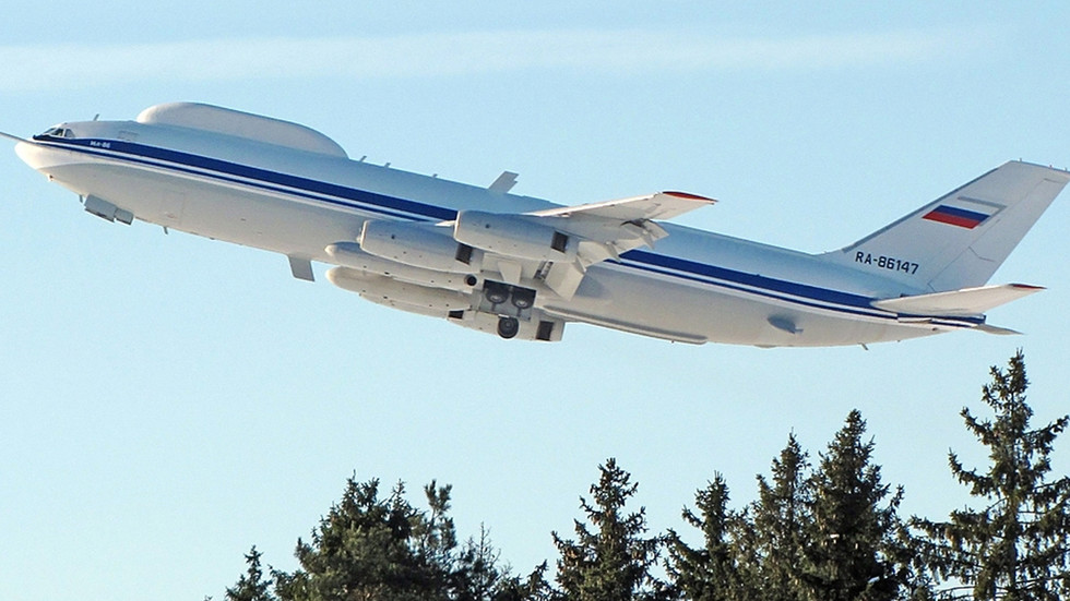Embarrassment as Russia's super-secret nuclear 'doomsday plane' target