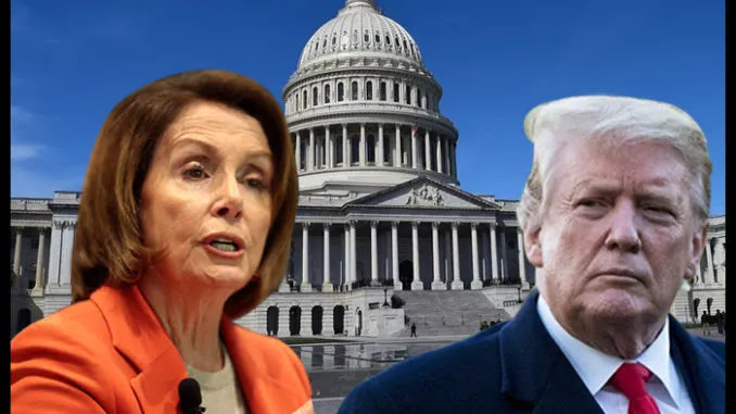 Nancy Pelosi Says She Plans To Pull Trump Out Of The White House 'By H