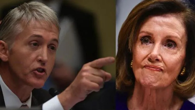 Gowdy: Nasty Nancy Can't Find a Single Democrat Who Didn't Date a Chin