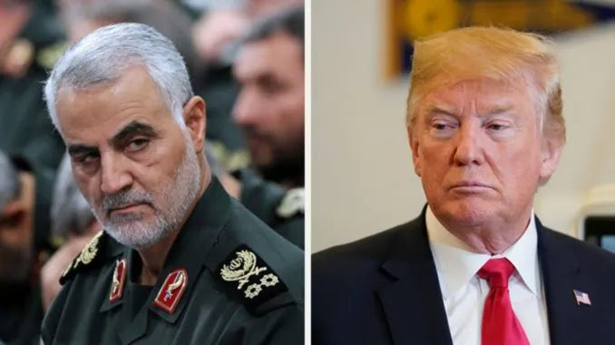 Iran Asks Interpol To Help Arrest Trump Over The Killing Of General So