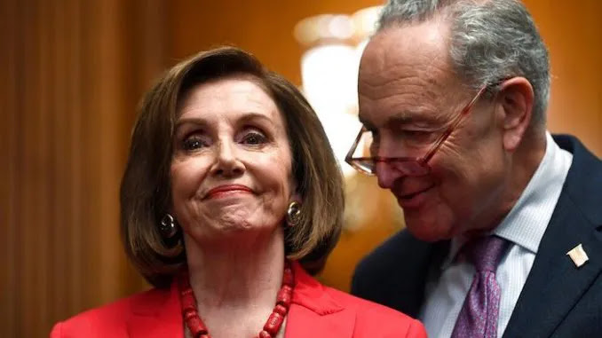 Pelosi & Schumer Vow to Eject Trump From White House Over 'Insurrectio
