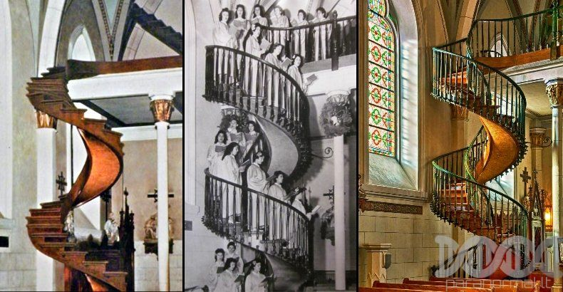 The Baffling Mystery Of Loretto Chapel Staircase