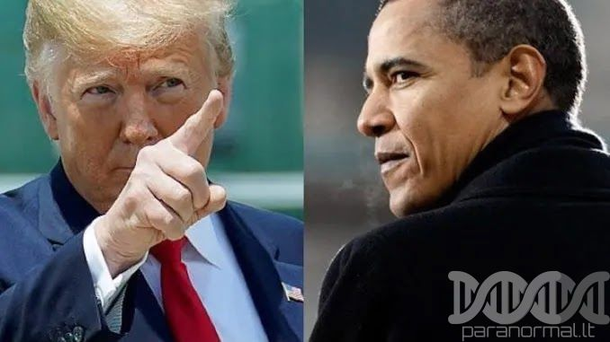 President Trump Says 'Corrupt' Obama 'Should Be Going To Jail – We CAU