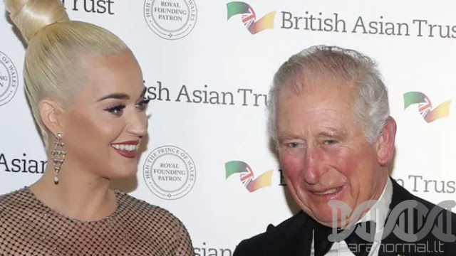 Katy Perry Appointed Ambassador For Prince Charles