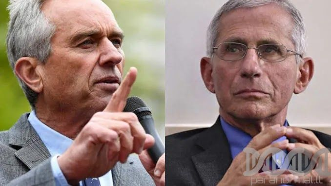 Robert F. Kennedy Jr. Vows To Bring 'Criminal' Anthony Fauci To Justic