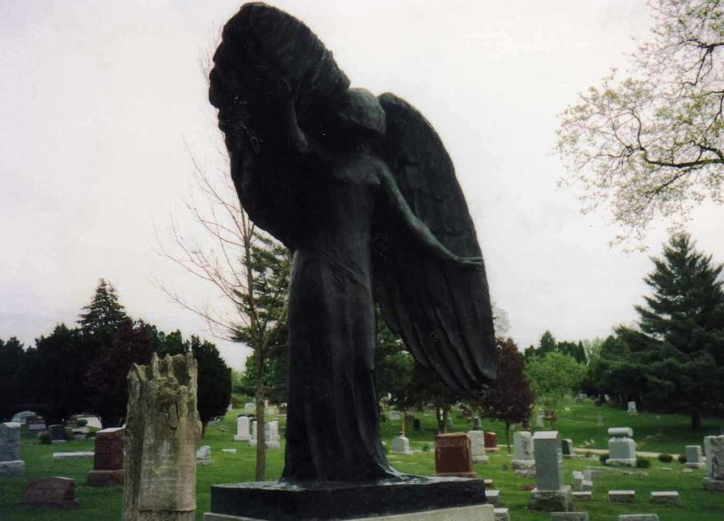 The Legend Of Black Angel of Oakland Cemetery