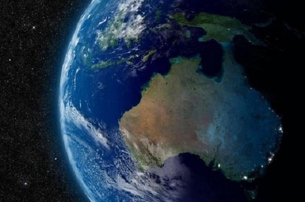 Australijoje aptiktas krateris