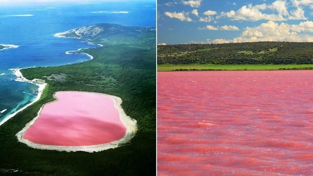 Hillier ežero spalvos priežastis vis dar nenustatyta
