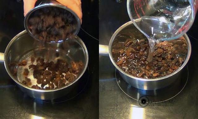 Kaip išvalyti kepenis su razinomis ir vandeniu per 2 dienas