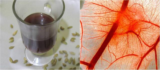 Gydomoji kardamono arbata kraujagyslių valymui