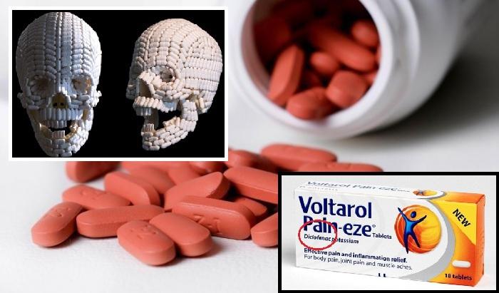 Diklofenakas. Dar vieni vaistai, kurie žudo?
