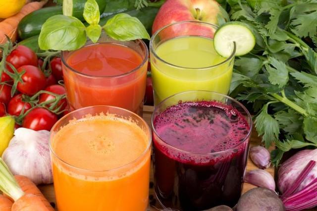 Šviežių daržovių sultys nuo įvairių ligų