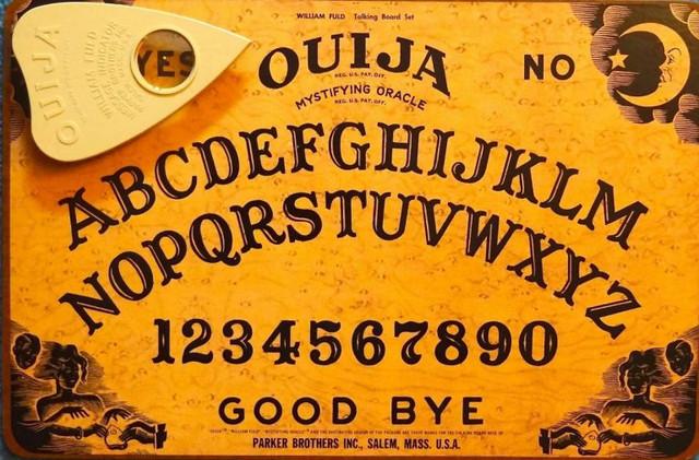 spiritizmo lenta, spiritizmas, paslaptingi reiškiniai, dvasios,Ouija