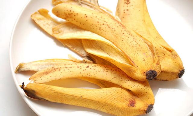 maistas, nauda, bananas, žievė, oda, banano žievės