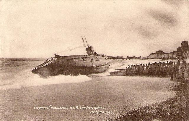 istorijos paslaptys, povandeninis laivas, u-118