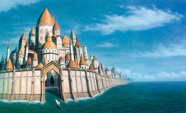 Ker Isas, miestas, Bretanė, keltai, civilizacijos paslaptys