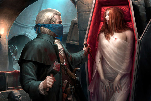 vampyrai, kraujas, mistika