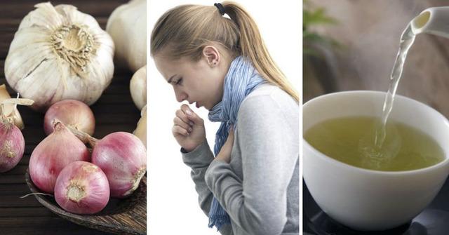 Gripas, kosulys, gydymas, peršalimas, svogūnas, česnakas, receptas
