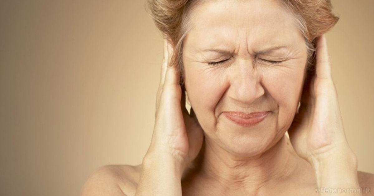 kaip gydyti spengimą ausyse su hipertenzija